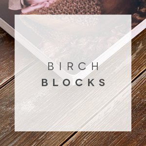 birch blocks